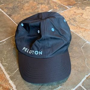 Black Peloton hat